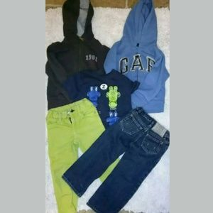 Toddler Hoodies Jeans Gap Polo